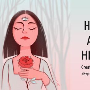 HEAD AND HEART | Art Readings | Chakra Balancing Hypnosis Meditation