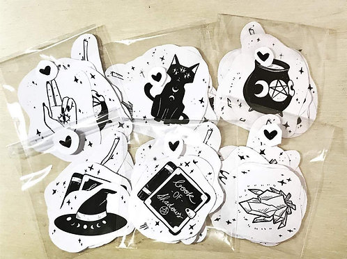 """The """"Witch Kit"""" Stickers"""
