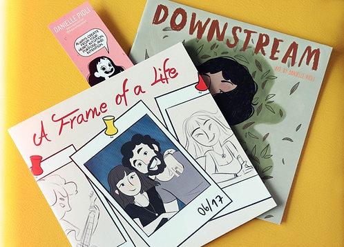 Bundle de Livros: A Frame of a Life / Downstream
