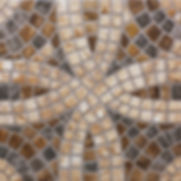 Abstract geometric pattern, ceramic tile
