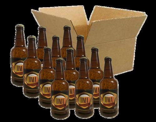 Caixa com 12 garrafas UMA German Kölsch