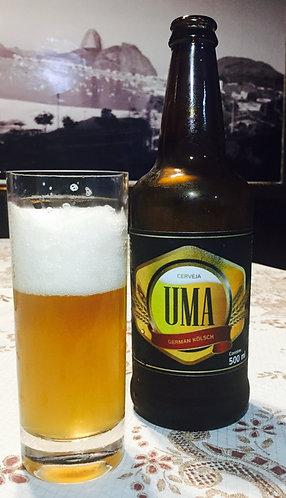Cerveja UMA Weiss 500 ml