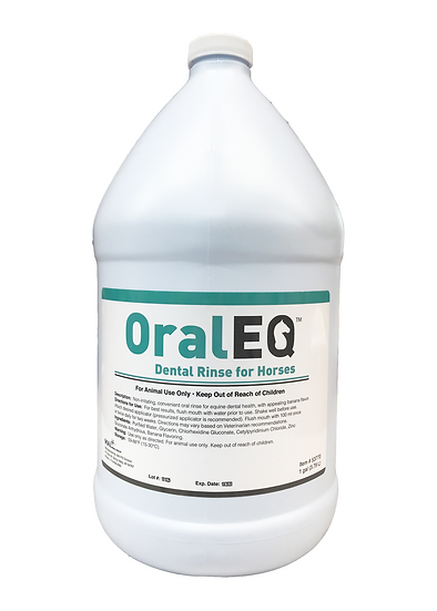 Oral EQ Banana Flavored Equine Dental Rinse