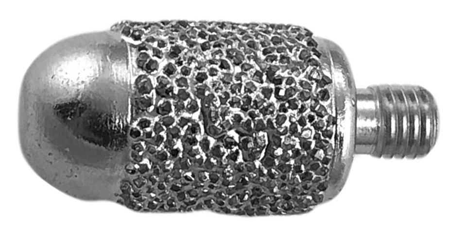 """1/2"""" Round Round Nose Barrel Burr Nickel Braised"""