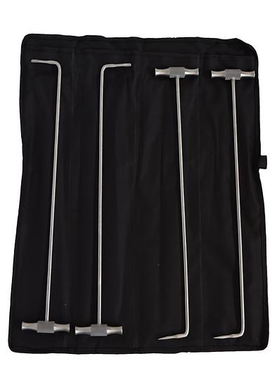 T-Handled Molar Elevator Set