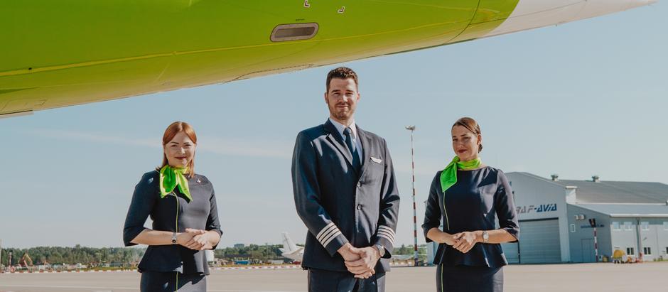 airBaltic līdz 2022. gada vasarai noalgos papildu 320 apkalpes darbiniekus