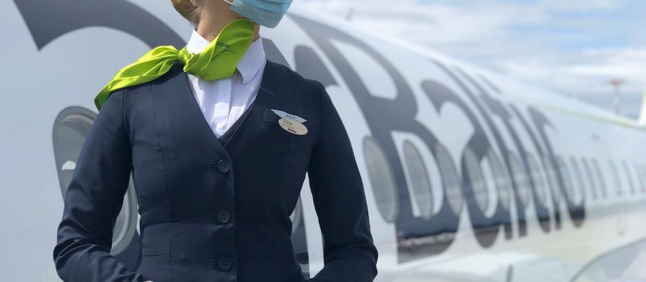 airBaltic iepazīstina ar priekšnosacījumiem drošai un ērtai ceļošanai