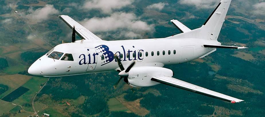 airBaltic svin 26. gadadienu