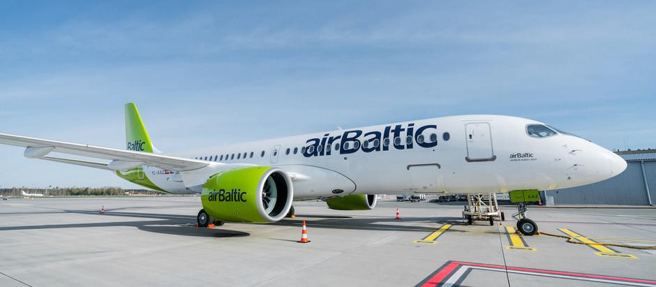 airBaltic kā pirmā lidostā Rīga ievieš ilgtspējīgas ielidošanas procedūras