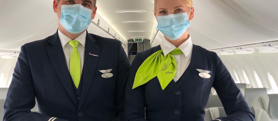 airBaltic aicina interesentus uz stjuartu atvērtajām dienām