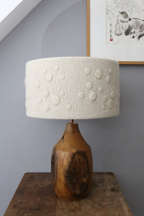 'Scattered Discs' - Linen Disc Lampshade