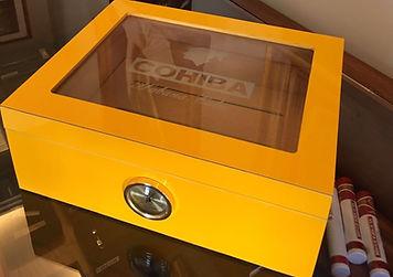 caixa umidificadora charutos