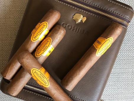 Mattafina Supremo Robusto e Cigar Case Cohiba