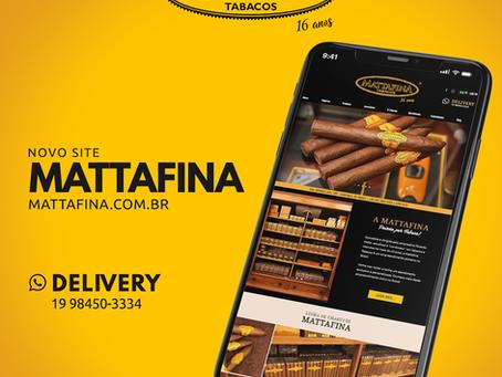 Novo site Mattafina