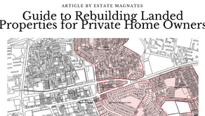 Guide to Rebuilding Landed Properties for Private Home Owners