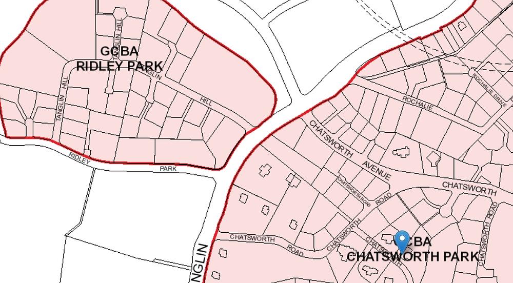 GCB Areas Control Plan