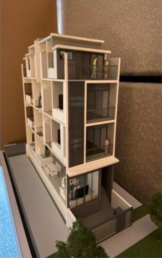 54 Lorong 36 Geylang Architectural Model