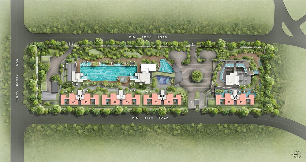 Highline Residences Site Map Level 1