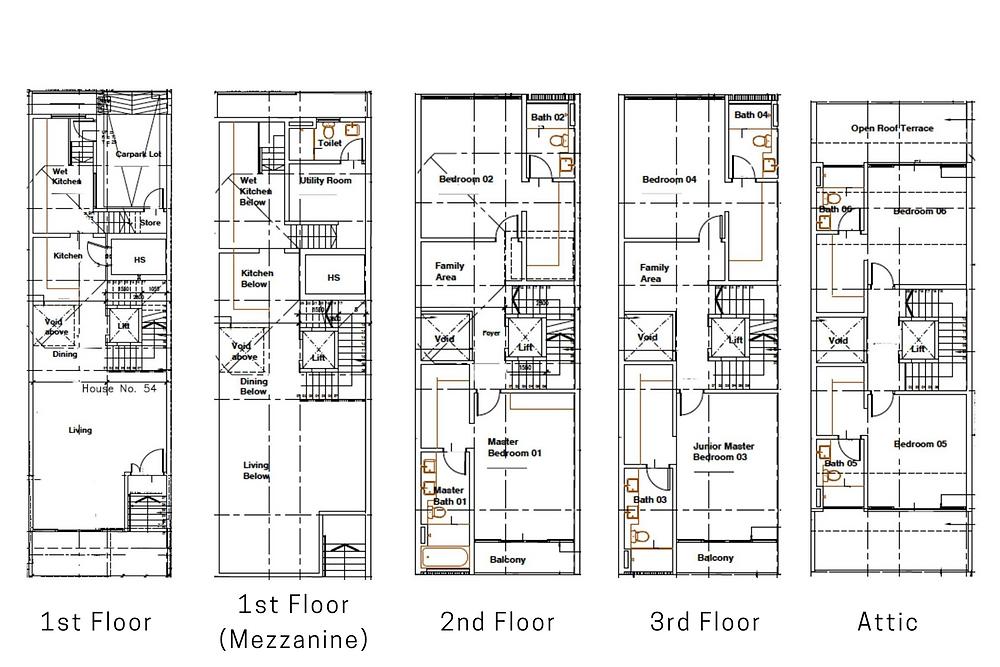 54 Lorong 36 Geylang Floor Plan