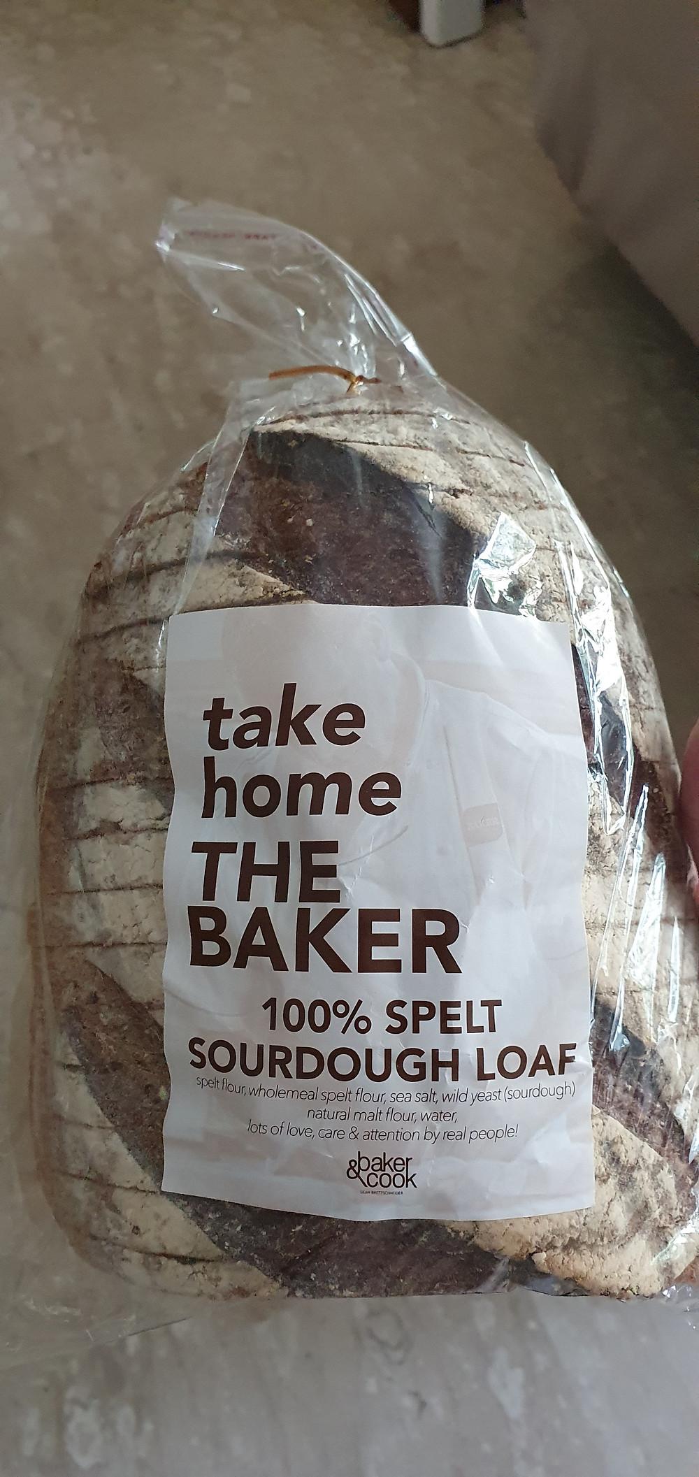 Spelt Sourdough Loaf