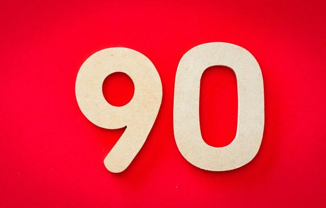 The 90 percent rule
