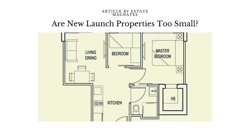 Are New Launch Properties Too Small