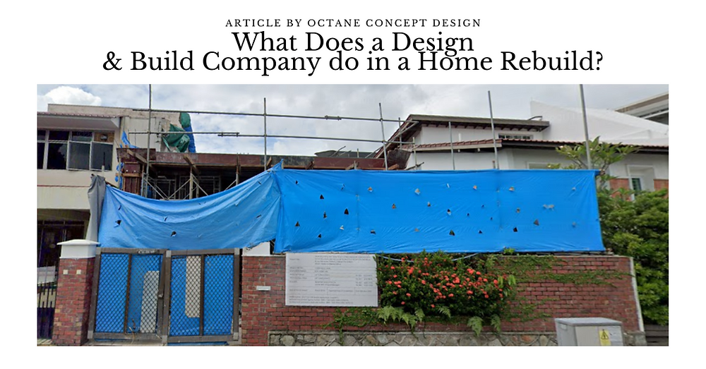 What Does a Design & Build Company do in a Home Rebuild?