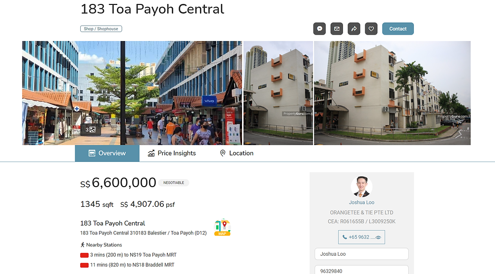 183 Toa Payoh Central