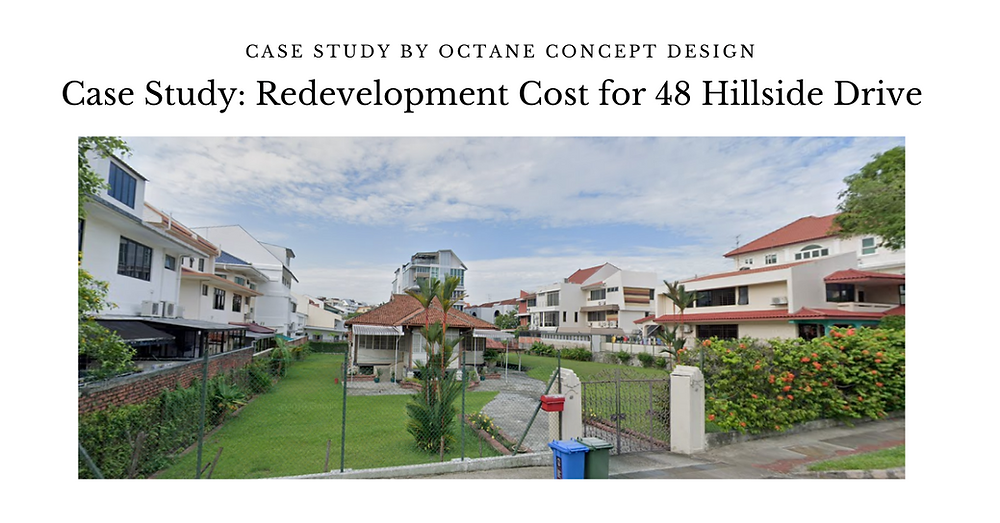 Case Study Redevelopment Cost for 48 Hillside Drive FB