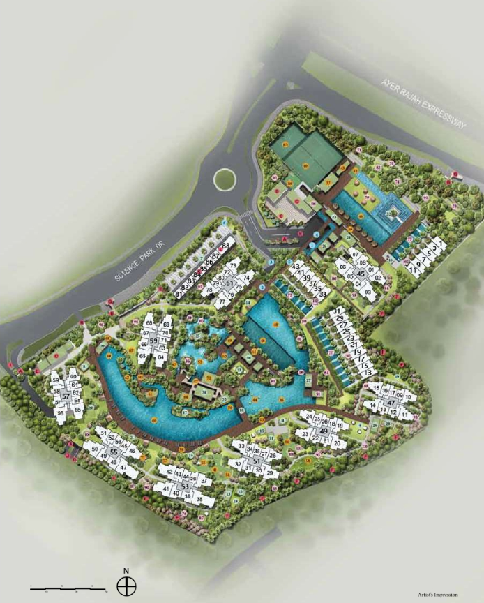 Site Plan without Legend