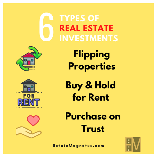 6 Types of Real Estate Investments (Pt. 1)