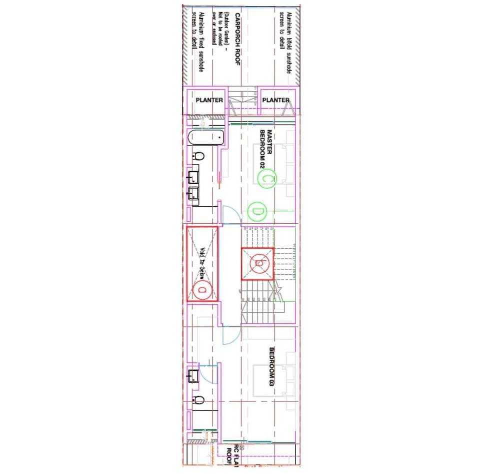 38 Jalan Kembangan Second Floor Plan