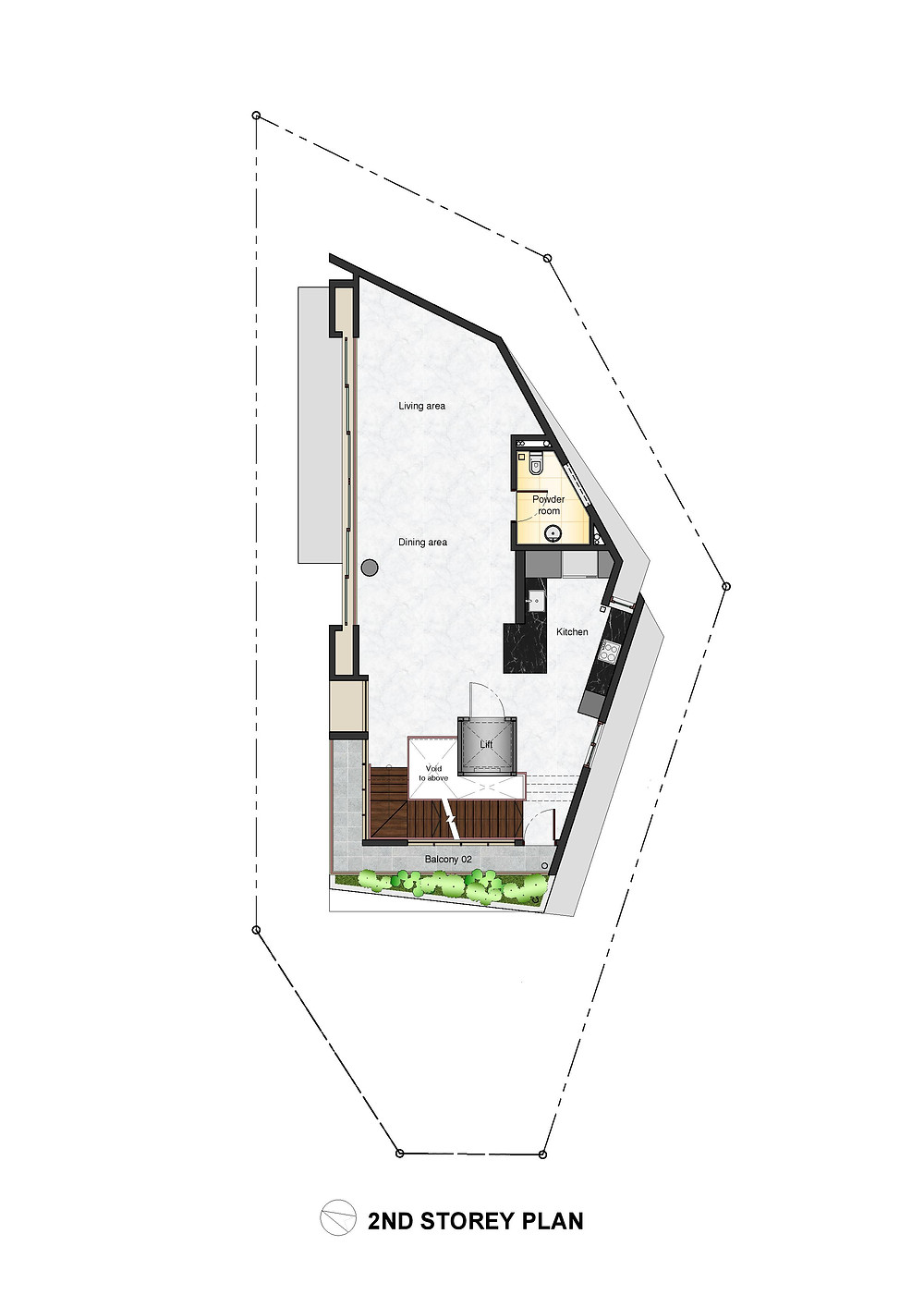 Princess @ 480 Guillemard Road 2nd Storey Plan