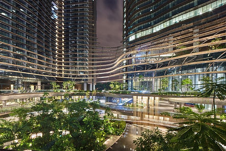 Marina One Residences at Night