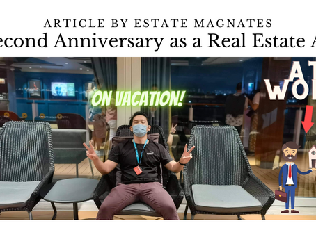 My Second Anniversary as a Real Estate Agent!