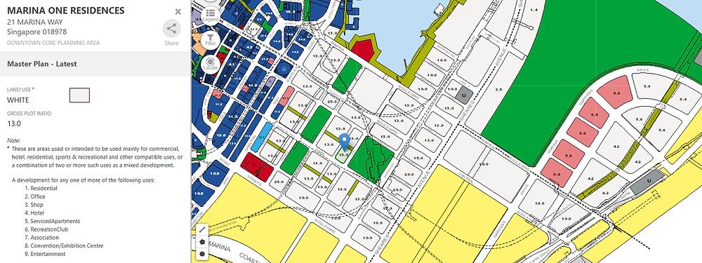 Marina One Residences Master Plan