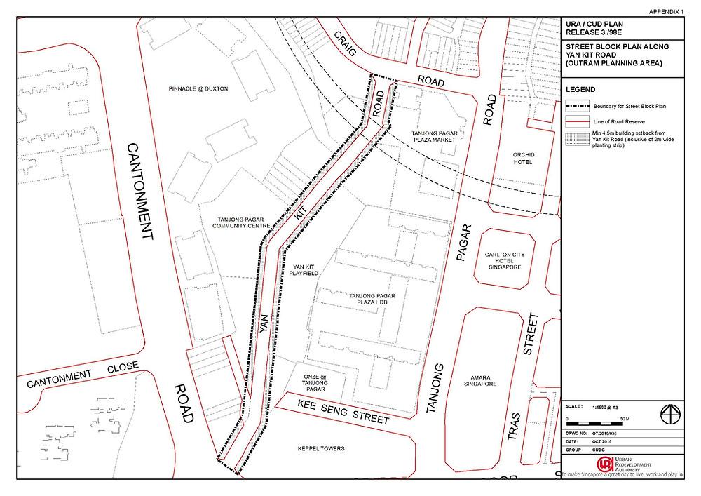 Yan Kit Road Street Block Plan