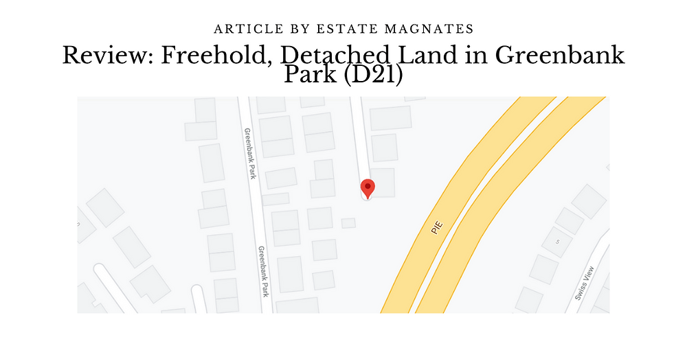 Review Freehold, Detached Land in Greenbank Park (D21)
