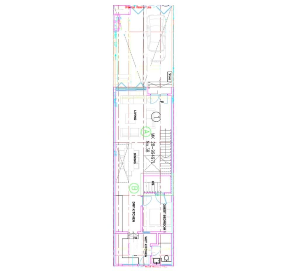 38 Jalan Kembangan First Floor Plan