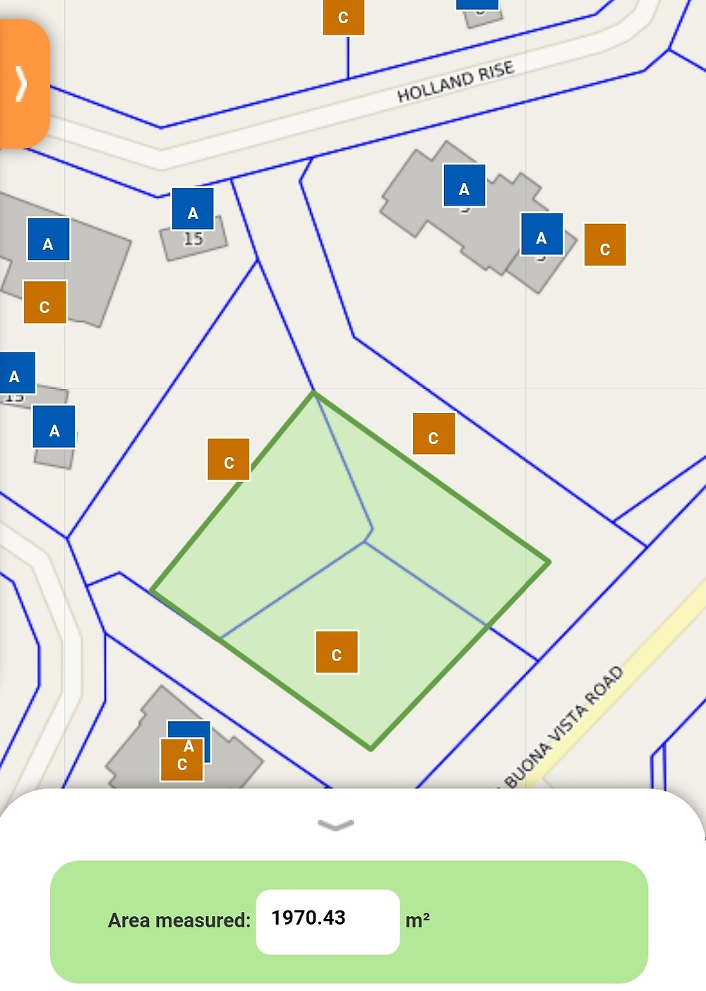 e-Lithograph for Holland Rise GCB