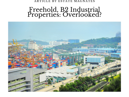 Freehold, B2 Industrial Properties: Overlooked?