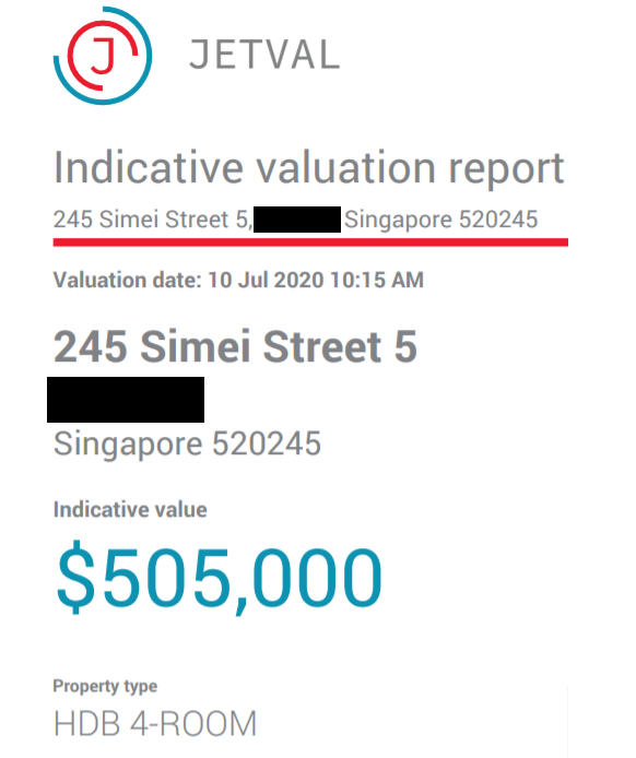 Jetval Valuation