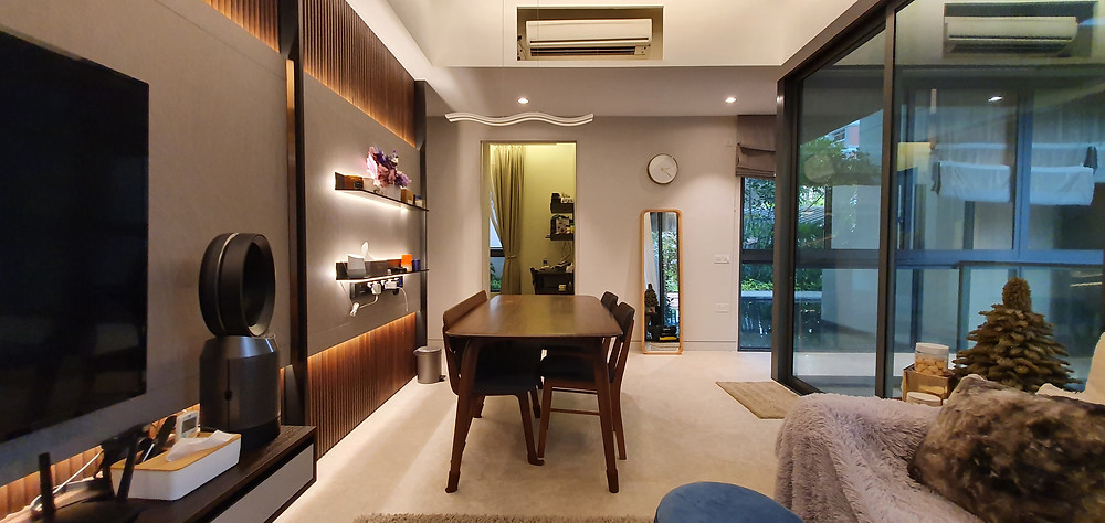 Living & Dining Room Part 2
