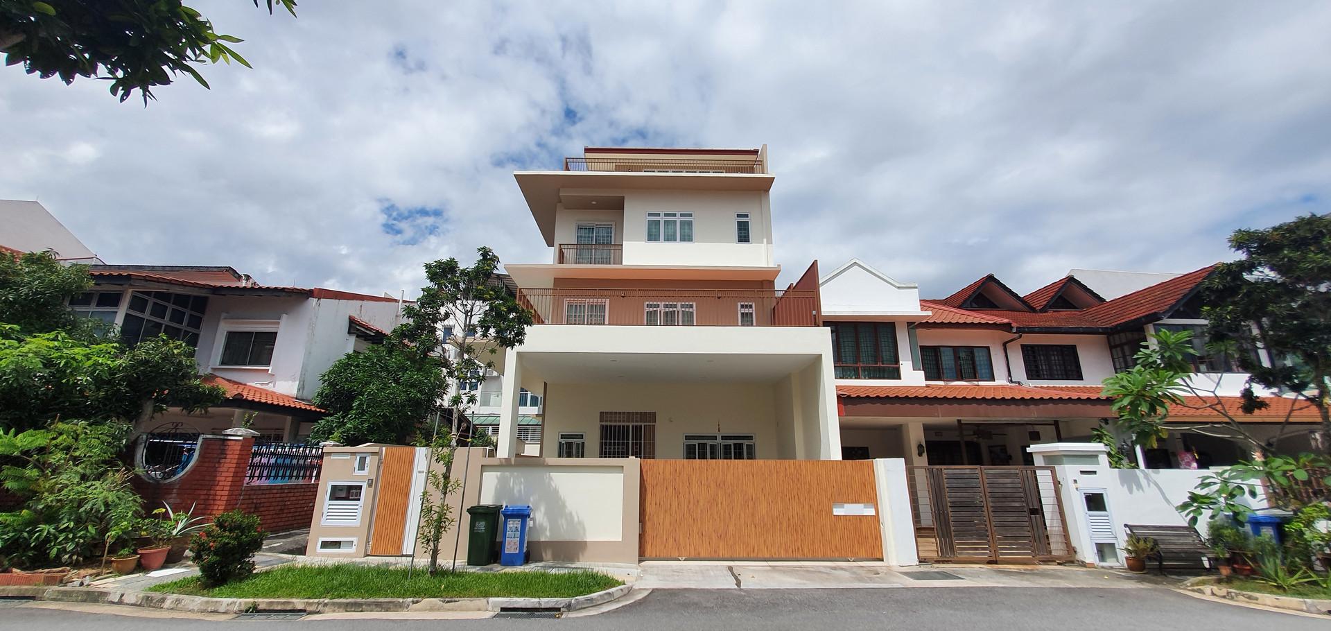 Yong Seng Estate, Jalan Senang