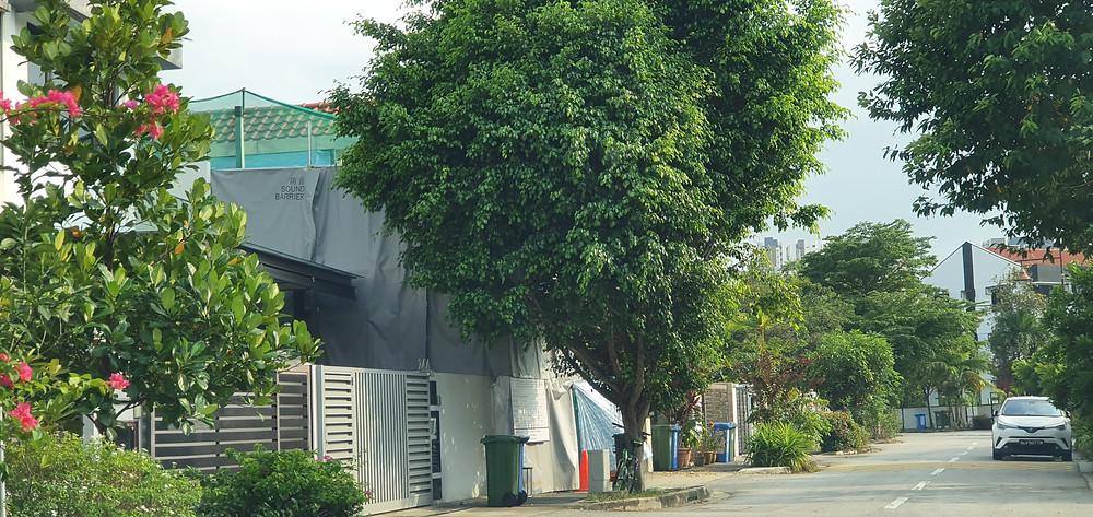 Woo Mon Chew Road Rebuilding