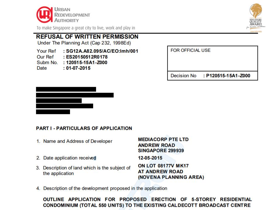 Refusal of Written Permission Part 1