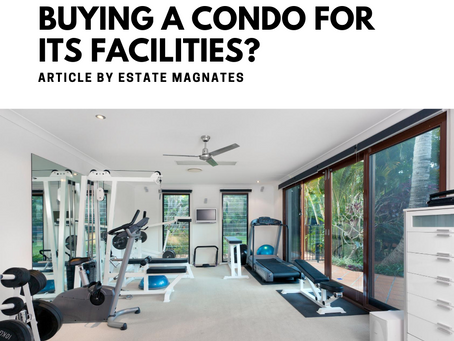 Buying a Condo for Its Facilities?