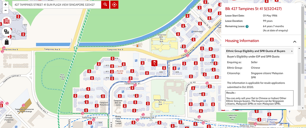 HDB Map Services