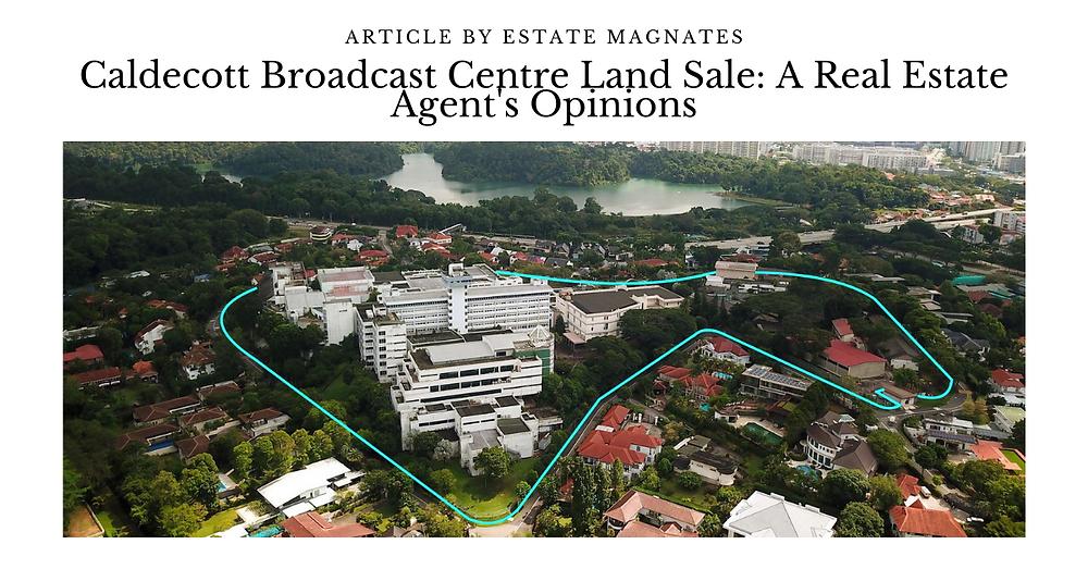 Caldecott Broadcast Centre Land Sale A Real Estate Agent's Opinions FB