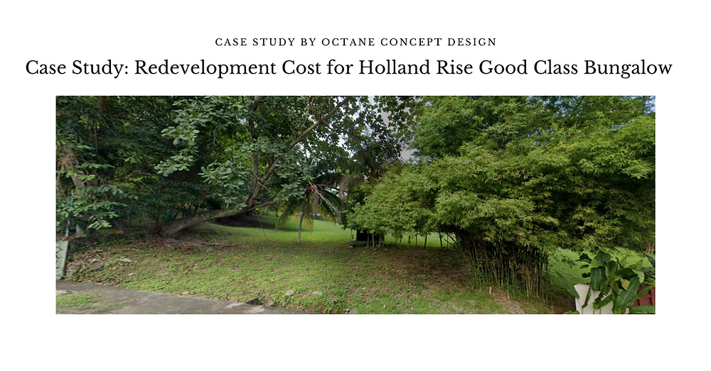 Case Study: Redevelopment Cost for Holland Rise GCB Site